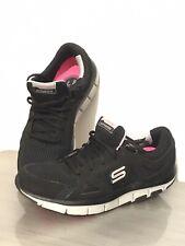 Skechers Liv SMART SHAPE UPS Scarpe da ginnastica 5 UK 38 EU 8 US Black Grey Scarpe Da Passeggio