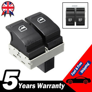 Right Driver Side Window Double Switch Control For VW Golf Transporter T5 T6 UK