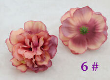 New Lot Diy 11cm Peon 00004000 y Rose Artificial Fake Silk flower Heads For Wedding Party