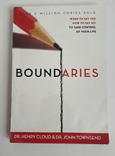 Boundaries: When To Say Yes, How To Say No Paperback Book - Henry Cloud