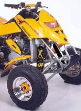 ATV,SHOCK COVER,PROTECTEUR D'AMORTISSEUR, VTT,BOMBARDIER DS 650 XTEAM,