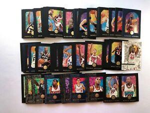 NBA Skybox E-XL Basketball Trading card base set single cards by Skybox 1996