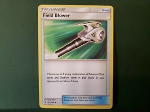 Pokemon Guardians Rising Field Blower Trainer Single Card Uncommon
