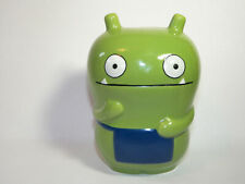 """UGLY DOLL GREEN CERAMIC BANK FIGURE 5"""""""