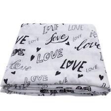 100%Bamboo fiber baby Newborn Swaddle Blanket Single layer baby towel Bath Towel
