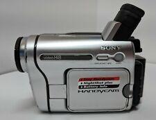 Sony CCD-TRV138 Hi-8 Camcorder Nightvision, Power Adapter, AV Cable