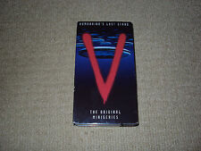 V THE ORIGINAL TELEVISION MINI-SERIES, 2 TAPES, VHS, EXCELLENT CONDITION
