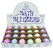 Bath Blitzers, Assorted Box Of 24 , Aromatherapy collection! Handmade in the UK.