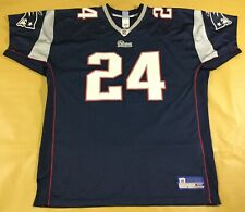 New England Patriots Ty Law #24 Football-NFL Reebok Jersey Size56
