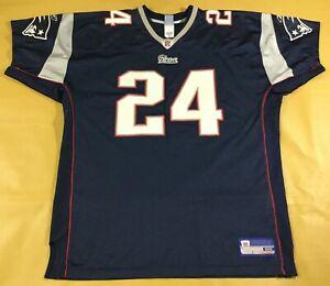 New England Patriots Ty Law #24 Football-NFL Reebok Jersey Size56