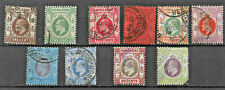Hong Kong King Edward Vii 1907 Very Fine Used Difinitives