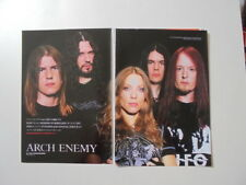 Arch Enemy Angela Gossow Phil Anselmo Superjoint Ritual clippings Japan