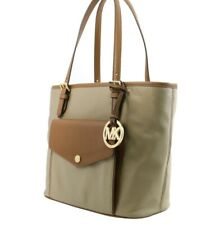 NEW MICHAEL KORS JET SET (Medium) Nylon Tote Hangbag - Dusk Color