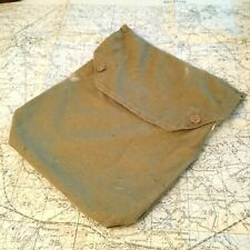 More details for original 1942 ww2 gas mask bag respirator gasmask british army military wwii