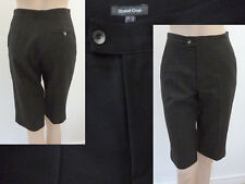 Street One Hose Girl Business Style knielang Bügelfalte schwarz 34 XS Top