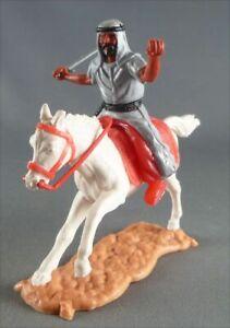 Timpo - Arabes - Cavalier gris (variation) cimeterre pantalon rouge ceinture noi