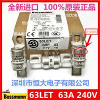 1PCS Fast fuse for  BUSSMANN 63LET 63A 240V ceramic fuse