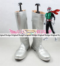 Masked Rider Kamen Rider Takeshi Hongo Boot Party Shoes Cosplay Boots