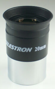 Celestron 20mm Light Weight Telescope Eyepiece ~ Great Quality For $20 ~ NEW