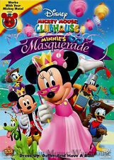 Mickey Mouse Clubhouse Minnie's Masquerade Plus Four Additional Episodes on DVD