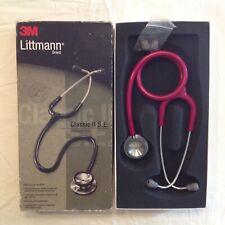 3m Littmann Classic Ii Se Stethoscope 2210 Raspberry