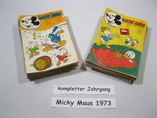 Micky Maus  Jahrgang 1973 / Nr. 1-52 komplett  Ehapa Verlag  70291