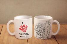 "Tibetan Mastiff - ceramic cup, mug ""I love"", Ca"