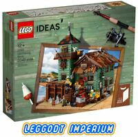 LEGO Ideas - Old Fishing Store - New Sealed 21310 FREE POST