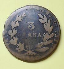 GIOACCHINO NAPOLEONE, 3 GRANA 1810 Regno di Napoli poi Regno due Sicilie