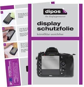 6x Nikon D610 Film de protection d'écran protecteur clair dipos