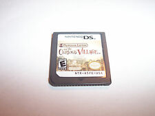 Professor Layton and the Curious Village (Nintendo DS) Lite DSi XL 3DS 2DS Game