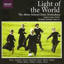 Various Composers : Light of the World (Tewkesbury Abbey School Choir, Swait)