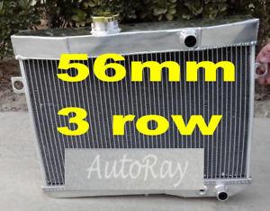 Aluminum Radiator for Volvo Amazon P1800 B18 B20 Engine GT Manual MT 59-70 3 Row