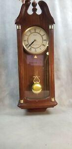 Seiko Quartz Wall Pendulum Clock Westminster Whittington w/Chime EMC Des Moines