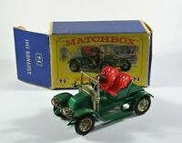 Matchbox Yesteryear Y2-2 Renault AX Two Seater (1911) - Diecast Model Car