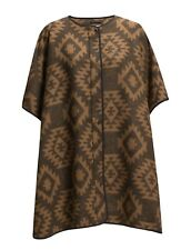 Vero Moda 3/4 Cape Tobacco Brown One Size rrp £70.00   SA171 UU 03
