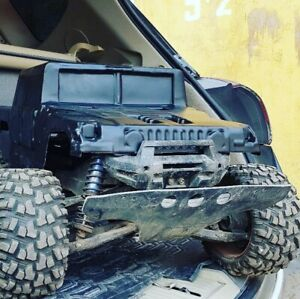 New Unbreakable body for Traxxas XMaxx Hummer H1