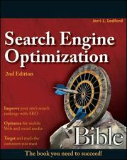 Search Engine Optimization Bible, Ledford, Jerri L., Good Book