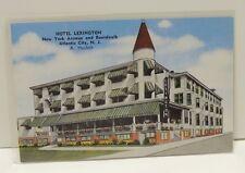 Vintage Postcard Hotel Lexington Atlantic City NJ - A. Haslett - Colored
