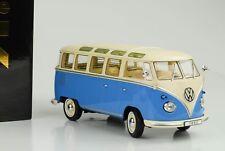 Volkswagen VW Bulli T1 Samba Année 1962 Bleu / Crème 1 18 Kk-scale