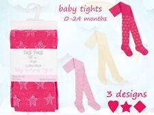 Baby Mädchen Design Strumpfhose Glänzend Herzen Diamant Stars Kleinkind Günstig