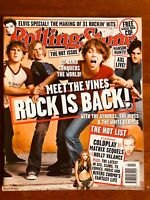 ROLLING STONE AUS NOV 02 The Vines, Elvis Presley, White Stripes, Strokes, Hives