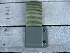 Valhalla Custom Kydex Nylon Belt Loop OD GREEN