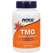 TMG, Extra Strength, 1000mg x 100 Tablets - NOW Foods  Depression