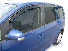 SET 4 DEFLETTORI ARIA  ANTITURBO per VW TOURAN 5 PORTE 2003 - 2015
