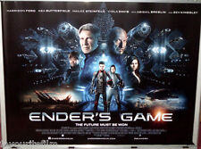 Cinema Poster: ENDER'S GAME 2013 (Main Quad) Harrison Ford Asa Butterfield
