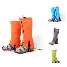 Outdoor Waterproof Walking Hiking Gaiters Shoes Leg Cover Boots Skiing Gaiters