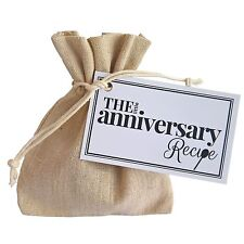 The Little Anniversary Recipe - Unique Gift Present husband wife couple wedding
