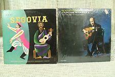 lot 2 rare lp record album Andres Segovia guitar Carlos Montoya Malaguena