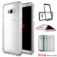 For Samsung Galaxy Note 8 S9 Plus S7 Edge Soft TPU Shockproof Bumper Clear Case